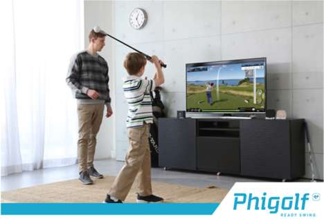 Indoor Golfing Training Systems