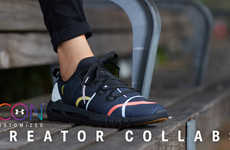 Artist-Created Running Sneakers - Under Armour's ICON Creator Collabs Series Channels Six Artists