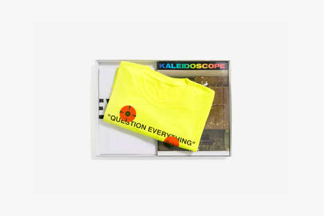 Magazine-Related Collector Packs - Kaleidoscope Magazine's Fall/Winter Issue Boasts OFF-WHITE Goods
