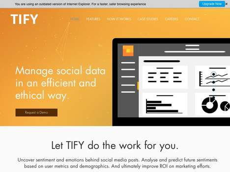 Social Data Management Platforms - The 'Tify' Platform Offers Real-Time Insights for Businesses