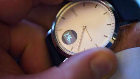Heart Monitor-Integrated Analog Watches