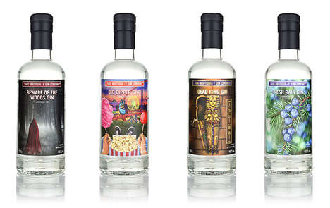 Scent-Inspired Gin Spirits