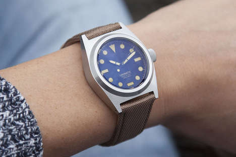 Water-Resistant Chronographic Watches
