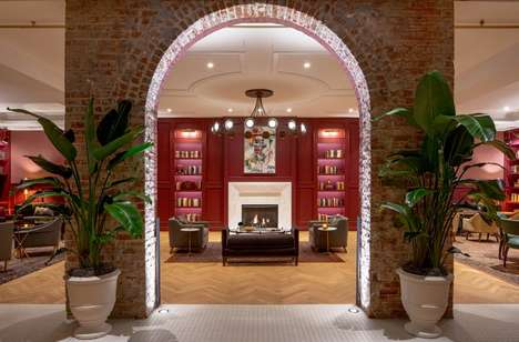 Romantic Hotel Interior Designs - This Louisiana Hotel by Stonehill Taylor is Irresistibly Charming