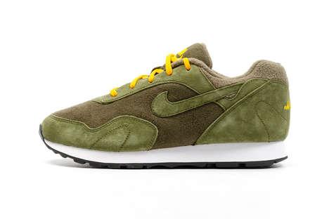 Plush Retro Chunky Sneakers