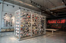 Contemporary Streetwear Miami Pop-Ups - Fight Club's Temporary Activation Offers Fashion & Footwear