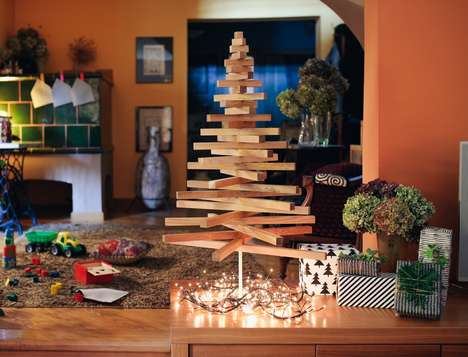 Eco Modernist Holiday Trees