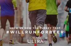 Thanksgiving Fun Run Promotions - Michelob Ultra is Offering Free Beer for Running a Turkey Trot