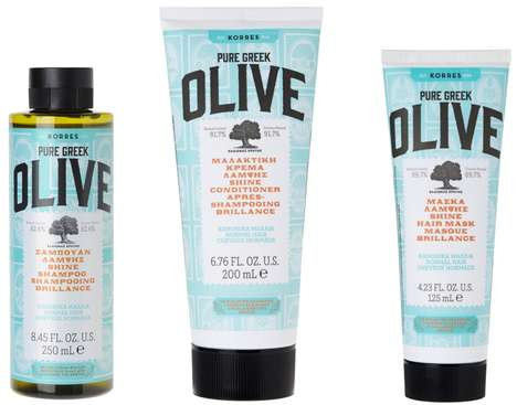 Olive-Centric Haircare Collections