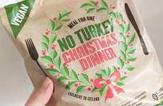 Vegan-Friendly Festive Meals - Iceland's 'No Turkey' Vegan Christmas Dinner is Fit for One