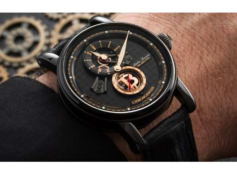 Cryptocurrency-Themed Timepieces