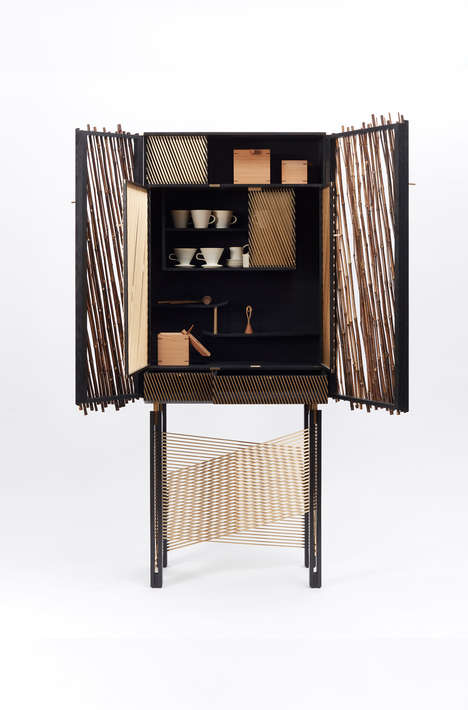 Sophisticated Handmade Cabinets - Hugh Miller Furniture Produces a Labor-Intensive Functional Piece