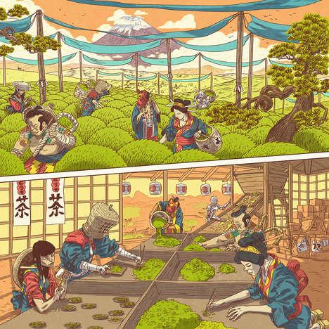 Beautiful Japanese Comic Campaigns