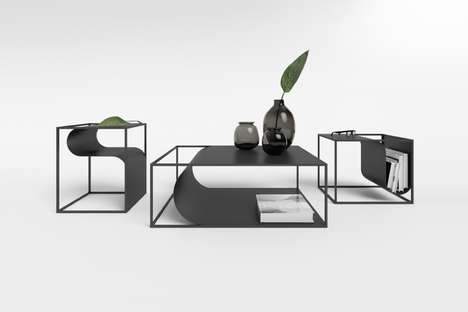 Fluidly Accented Furniture Collections
