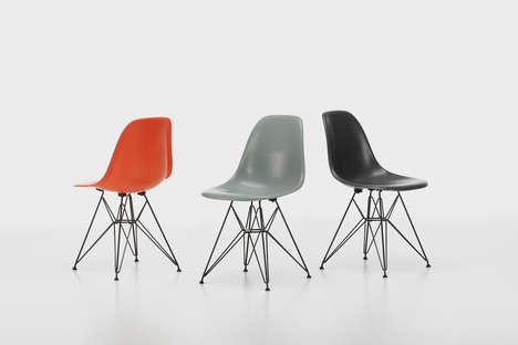Retro-Themed Fiberglass Chairs