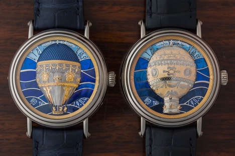 Hot Air Balloon-Inspired Watches - Hodinkee Unveils Vacheron Constantin Watches for Metiers d'Art