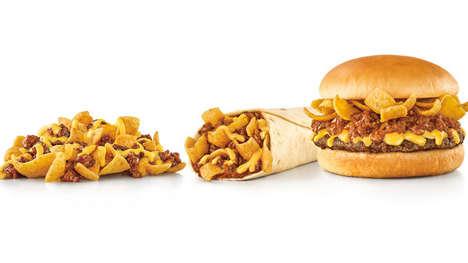 Corn Chip-Themed Menus