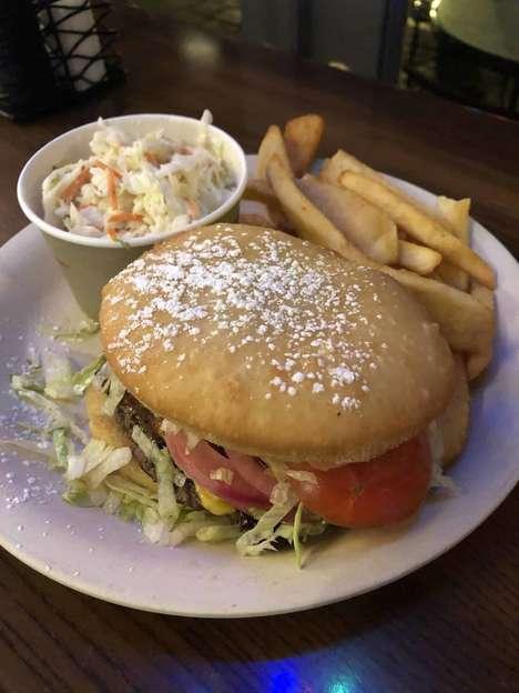 Beignet Burger Buns