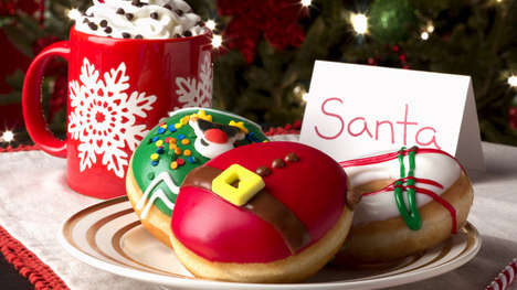 Holiday Doughnut Dessert Menu