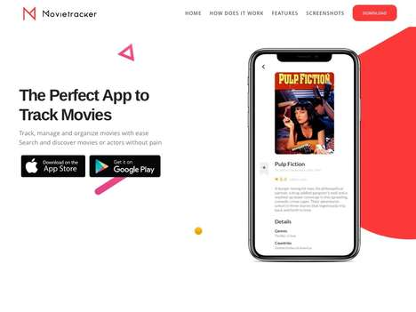 Organized Movie-Tracking Apps