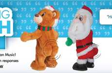 Voice-Controlled Christmas Toys - Gemmy Industries' Holiday Plush Toys Pair with Amazon Alexa