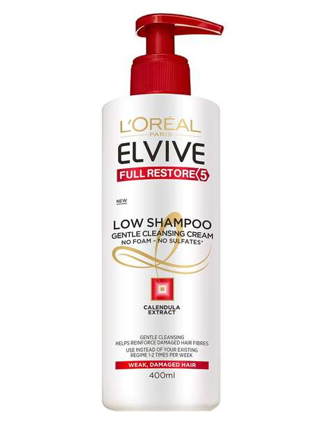 Low-Shampoo Hair Cleansers