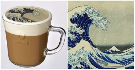 Painterly Latte Art