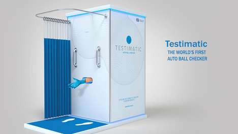 Interactive Cancer Awareness Activations - 'Testimatic' by FCB Raises Awareness of Testicular Cancer