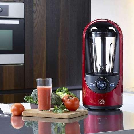 Nutrient-Preserving Vacuum Blenders