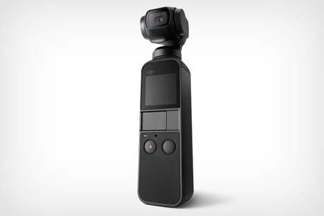 Pocket-Sized Cinematic Gimbals - The DJI Osmo Pocket Offers Performance in a Small Package