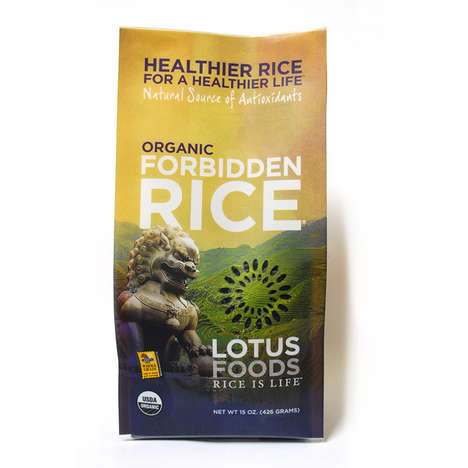 Exclusive Organic Rice Options - Lotus Foods' Forbidden Rice Dates Back to the Chinese Empire