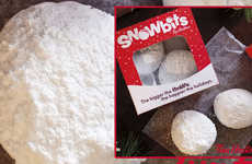 Snowball-Inspired Doughnut Holes - Tim Hortons' Snowbits are Part of Its Winter Menu