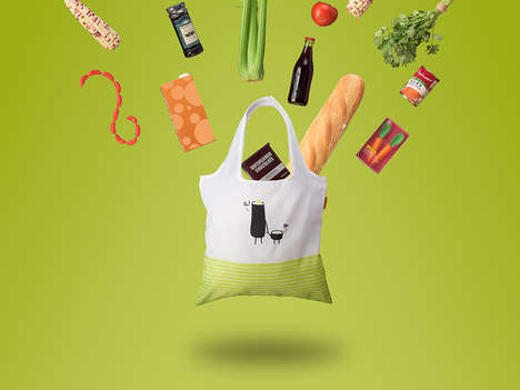 Rolling Sushi Supermarket Bags
