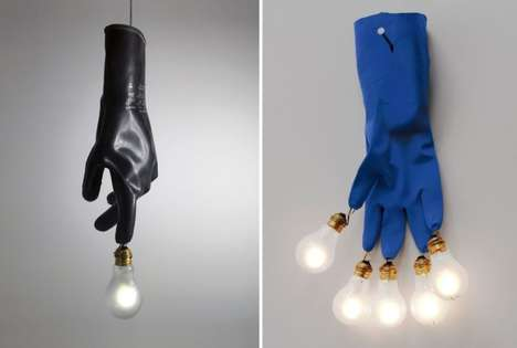 Illuminating Plastic Glove Lights