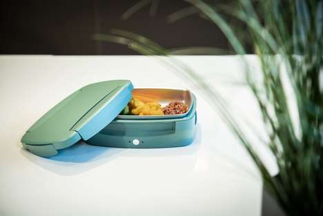 Self-Heating Steamer Lunchboxes
