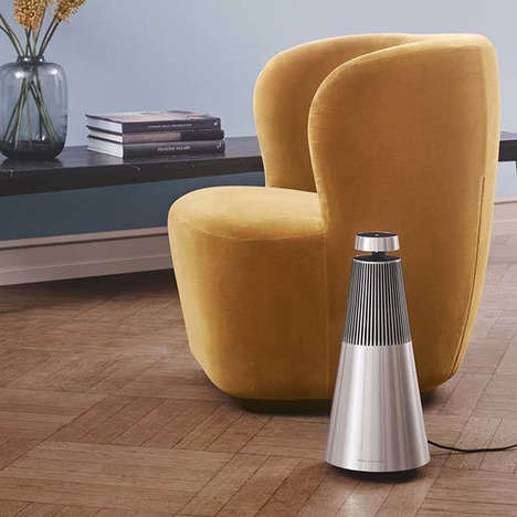 Conical Voice Assistant Speakers - The Bang & Olufsen Beosound 2 Has an Ornate Aesthetic