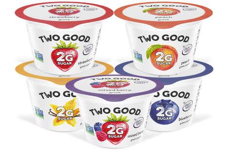 Low-Sugar Greek Yogurts