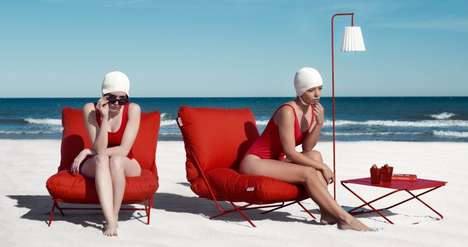 User-Customizable Outdoor Furniture - The Diabla Valentina Outdoor Furniture Collection is Chic