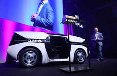 Automated Parcel Delivery Robots - The Cleveron Future Robot Courier Has a Self-Driving Design