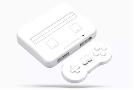 Electronic Music-Inspired Game Consoles