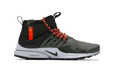 Durable Waterproof Caged Sneakers