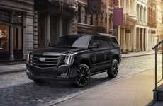 Demurely Dark Luxury SUVs
