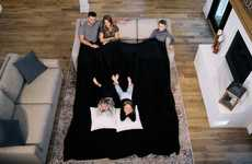 Oversized Family-Friendly Blankets