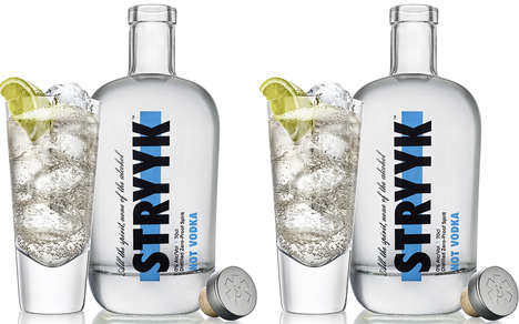 Flavorful Alcohol-Free Vodkas