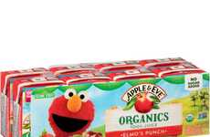 Kid-Friendly Organic Juice Punches - Apple & Eve's Shelf-Stable Juices Belong in Kid's Lunchboxes
