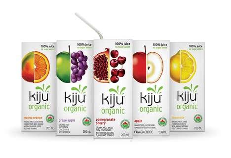 Elegantly Designed Organic Juices