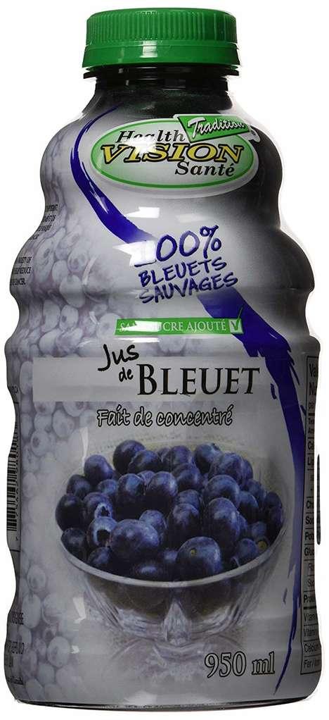 Energizing Wild Blueberry Juices