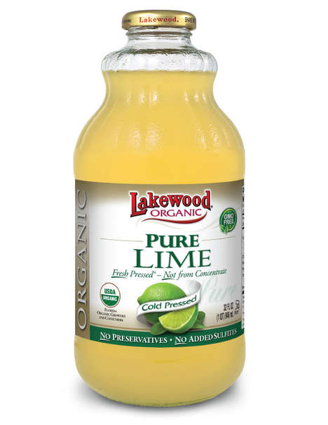 Organic Pure Lime Juices