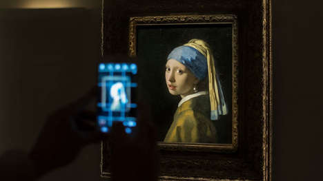 Extensive AR Art Offerings - Google's Virtual Vermeer Museum Showcases Incredible Artwork