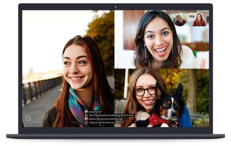Real-Time Video Chat Subtitles
